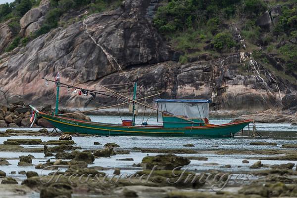 Thai Fishing Boat - Chaweng Beach, Koh Samui, Thailand