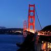 Golden Gate Bridge San Francisco from Vista Point near Horseshoe Bay
