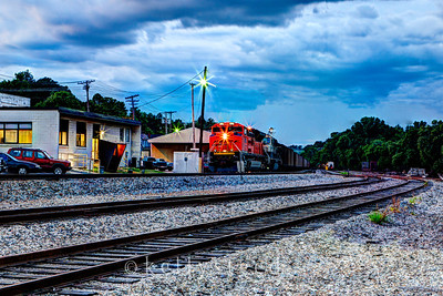 BNSF Depot Thayer, MO