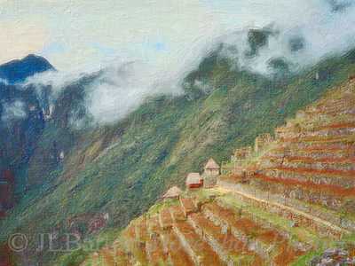 Terraced City Machu Pichu