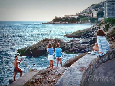 Fishing in Rio de Janeiro Brazil