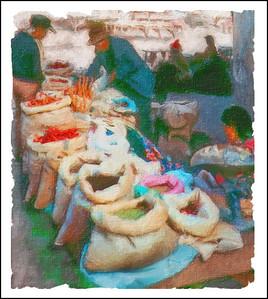 Spice Market in Cuzco