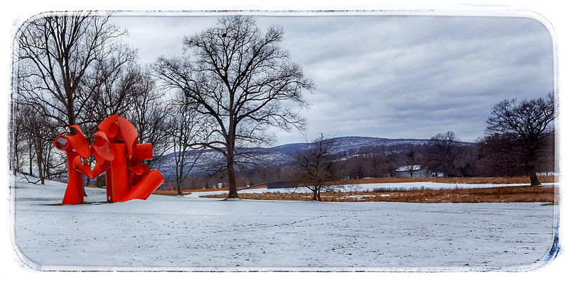 "Storm King Art Center New Windsor NY  Alexander Liebermans ""I liad"""