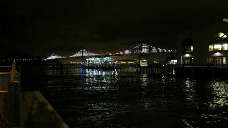 The Bay Lights Project from Pier 1<br /> <br /> Video is HD; Use full screen option and select a resolution corresponding to your screen resolution.
