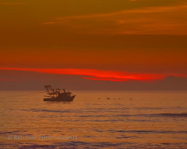Shrimp boat off 19th St. Atlantic Beach