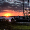 """Shrimp Boat Sunset"""