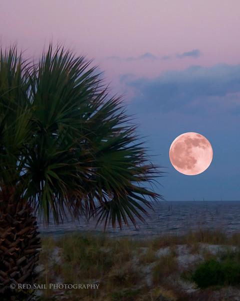Full Moon..Atlantic Beach, Fl.