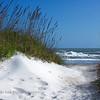 """Atlantic Beach Dunes""  Image taken at the beach access of 19th Street in Atlantic Beach."
