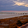 Jacksonville Beach Pier. Taken from the Bar Deck, Casa Marina Hotel. This image was created with HDR software (Photomatix) in tone compressor mode.