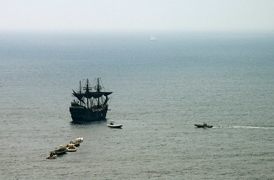 A final shot of the Black Pearl.