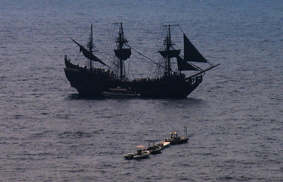 Wish I could get closer to the Black Pearl!