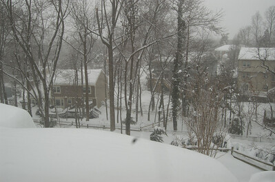 from Dan's bedroom window