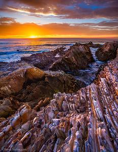 Montana de Oro State Park Sunset Seascape