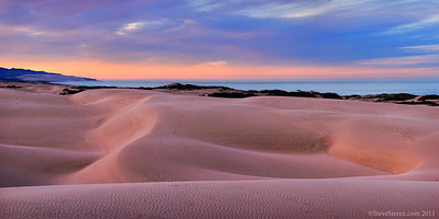 California Central Coast Dunes Panorama