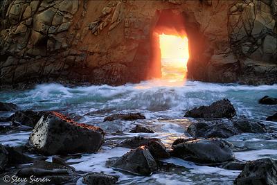 The Blow Hole Big Sur, California