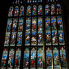 Stained Glass Window, Gloucester Cathederal