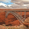 Glen Canyon Bridge, Lake Powell, Arizona