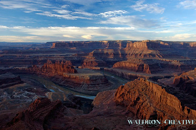 Dead Horse Point overlook, Utah.