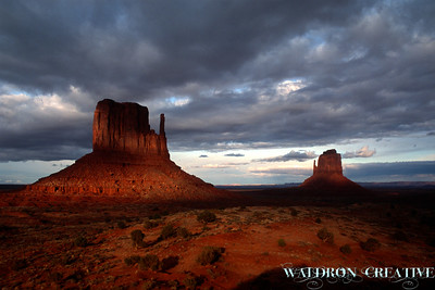 Mitten Buttes, Monument Valley Utah.