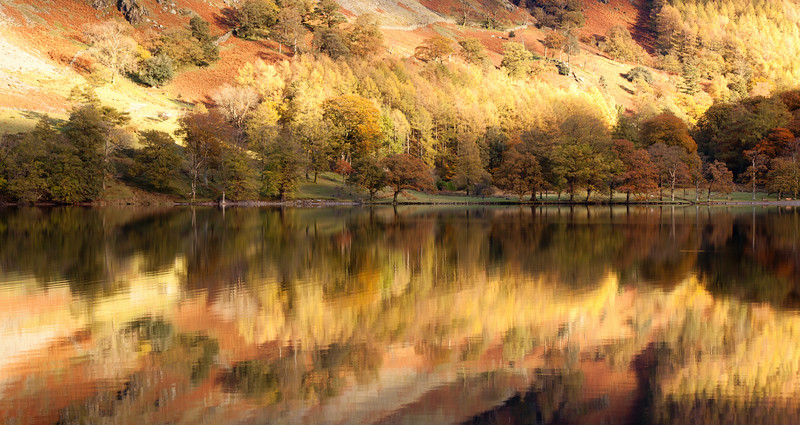Buttermere Reflections in late afternoon light #5