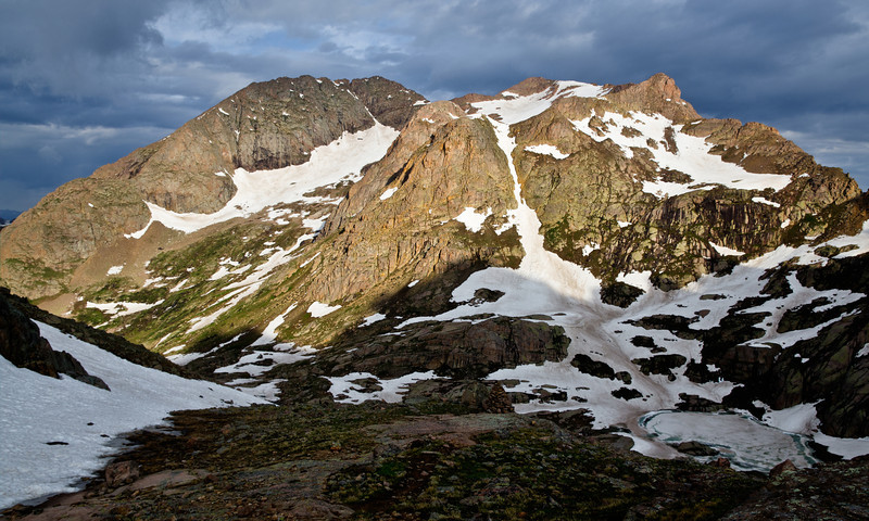 Eolus -  Weminuche Wilderness Colorado