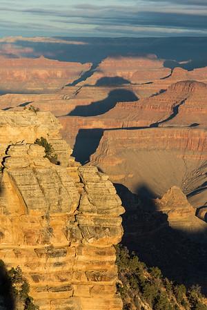 Grand Canyon morning at Mather Point.