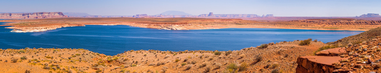 Glen Canyon Dam Overlook, Page, Arizona