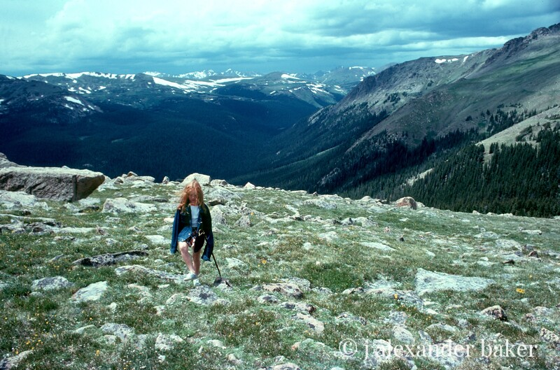I hate the Rocky Mountains!  I dont care HOW pretty they are!