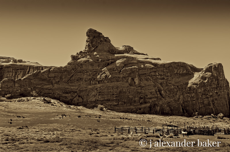 Navajo Corral 1, Monument Valley, Navajo Nation USA