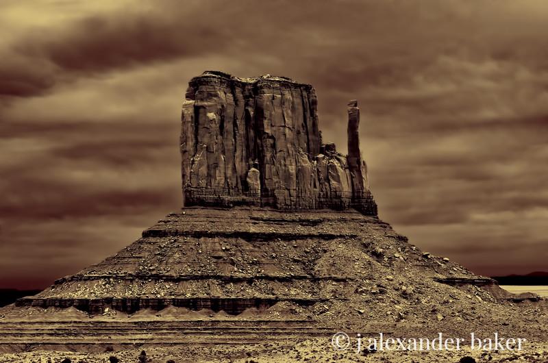 West Mitten, Monument Valley, Navajo Nation USA