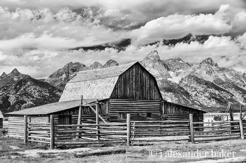 John Moulton Barn, Grand Tetons, N. P.