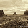 The Mittens and Merrick Butte, Monument Valley, Navajo Nation USA