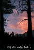 Sunset Kings Canyon NP