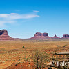 View of Monument Valley from Goulding's Lodge, Monument Valley, Navajo Nation, USA