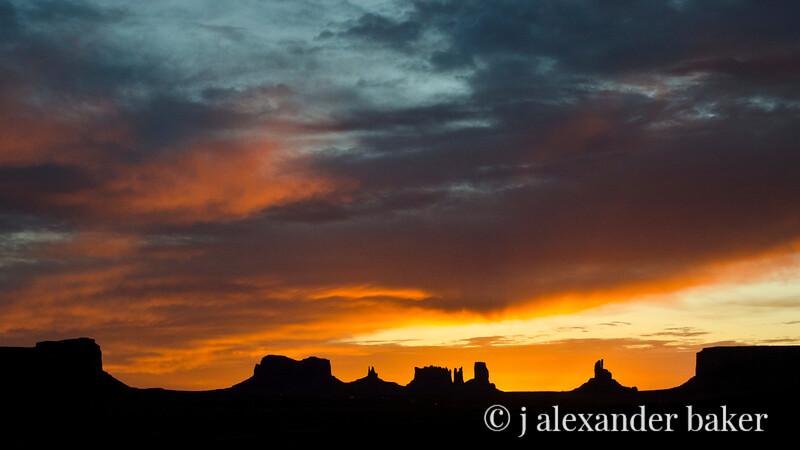 Sunrise, Monument Valley, Navajo Nation, USA