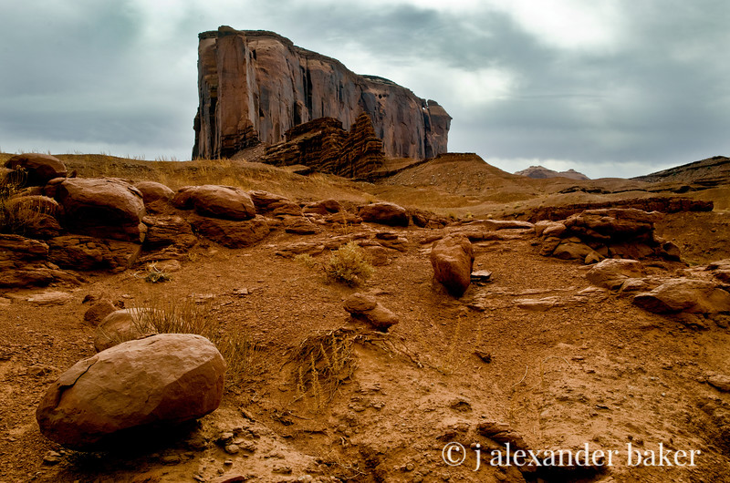 The Elephant and the Peanut, Monument Valley, Navajo Nation, USA