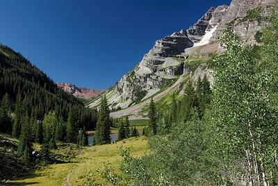 Crater Lake, Rocky Mountains, Colorado