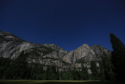 Yosemite Valley at 3am