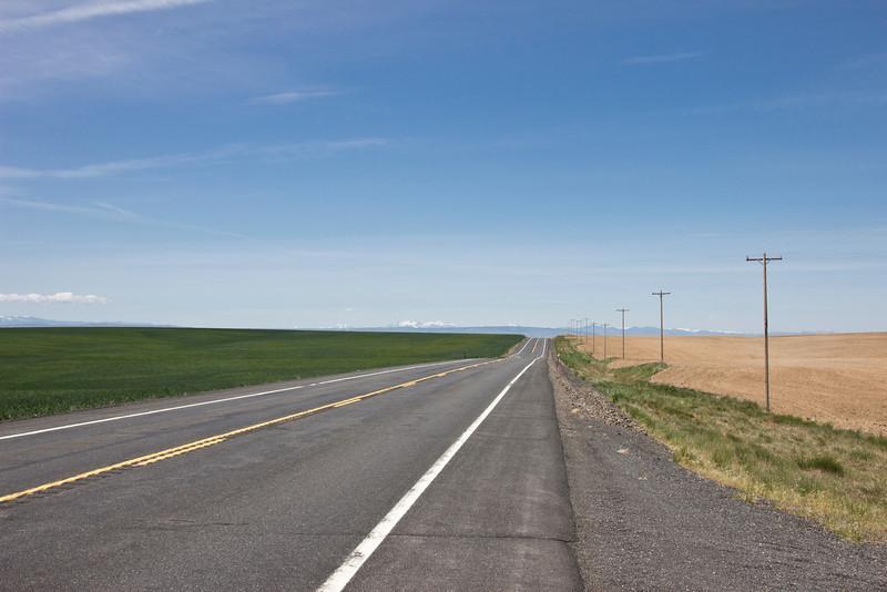 Highway 2, Columbia Basin, Washington.