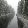Cooper River at Cooper Lake