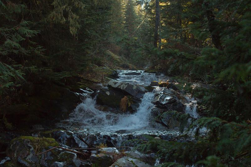 Upper Hidden Falls