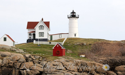 Nubble Light, York