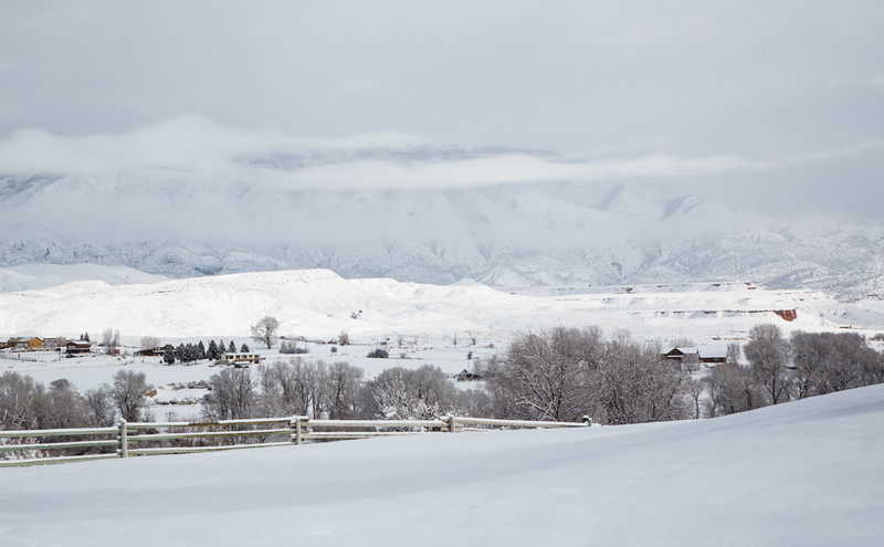 Winter, Hideout Ranch, Shell, Wyoming