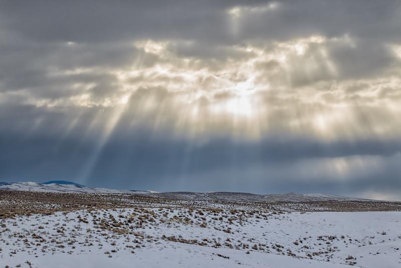 God Rays, Shell, Wyoming