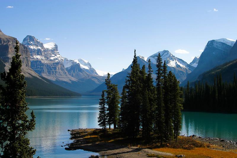 Maligne Lake, B.C.