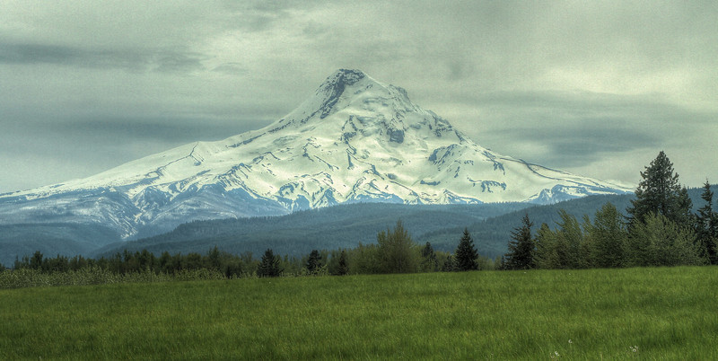 Mt. Hood, north side
