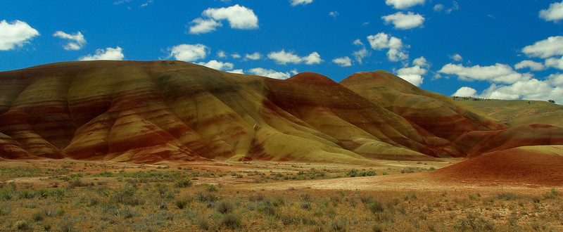 The Painted Hills of Eastern Oregon