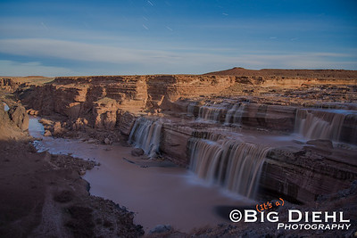 This is a 10 Minute Exposure of Grand Falls under a (nearly) Full Moon.