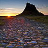 Paved with gold...Lindisfarne Sunrise.