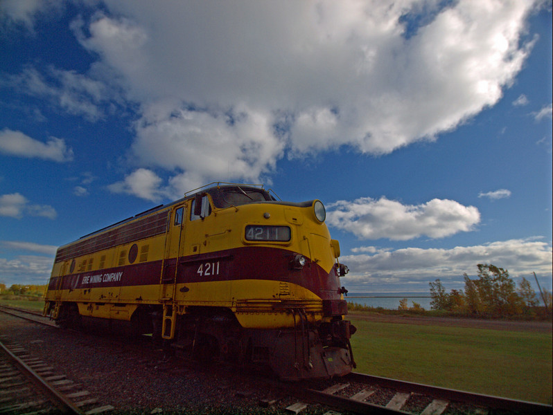 Locomotive at Two Harbors Depot